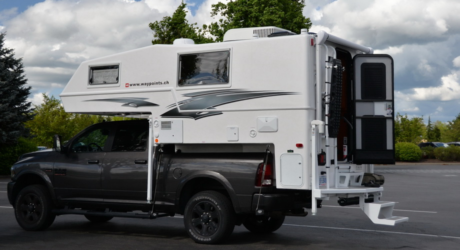 RAM with Northern Lite Truck Camper